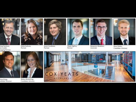 Corporate & Natural Resources team, Cox Yeats