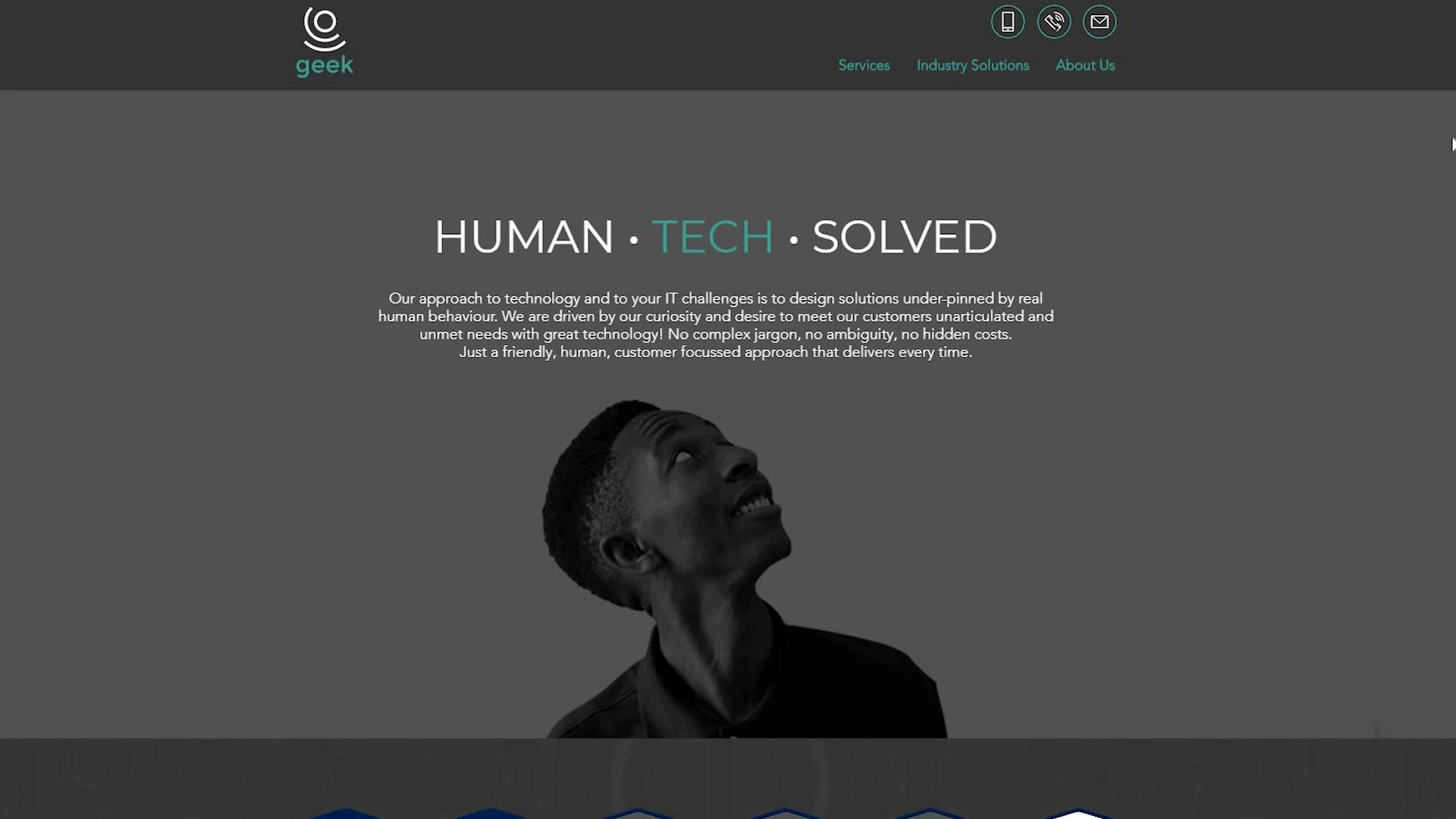 Geek Managed Services Human. Tech. Solved