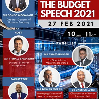 Unpacking the budget speech with the Director-General of National Treasury