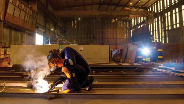 SanDock Austral runs some of the largest artisan training, graduate internship and in-service programmes in the industry