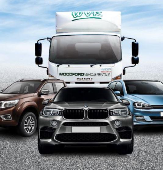 Woodford vehicle rentals