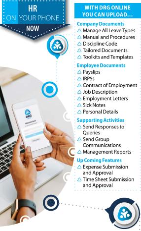 DRG Siyaya HR App