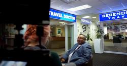 Dinesh Naidoo KZN Business Leaders video shoot