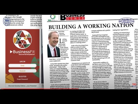 David White building a working nation