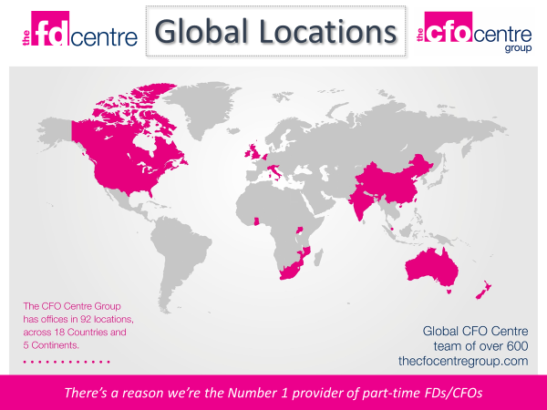 The FD Centre global locations
