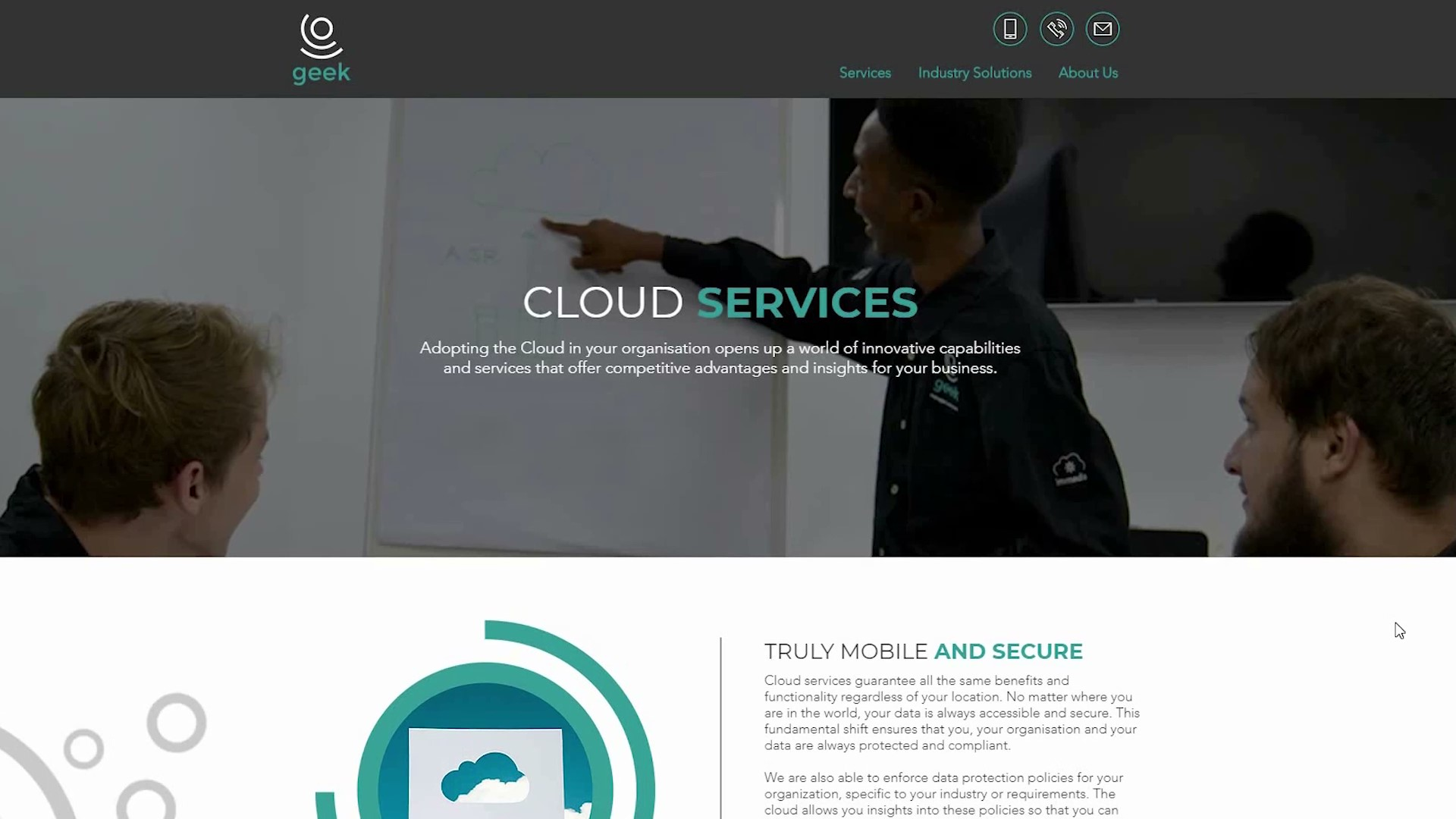 Geek Managed Services Cloud Services