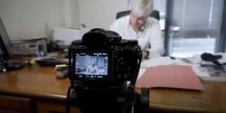 Peter Hoffmann business leader video shoot