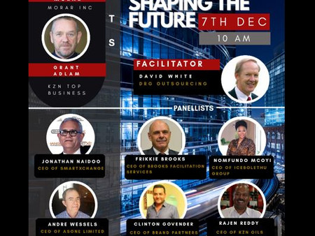 Don't miss this opportunity to hear each of the next panel of KZN leaders share their stories