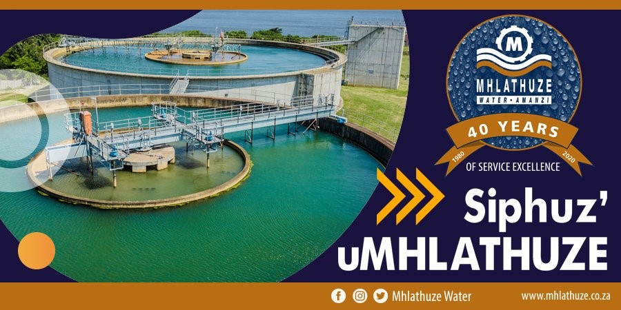 Mhlathuze Water 40 years of services
