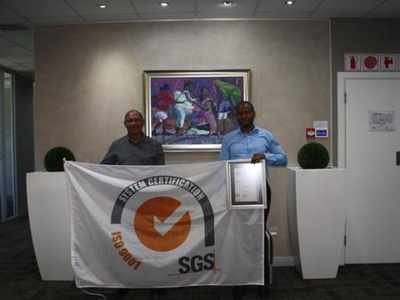 SLG ISO 9001:2015 Certification Achievement