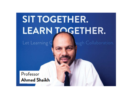 Professor Ahmed Shaikh - It's adapt or die for education as technology forges ahead