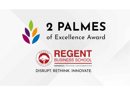 2 PALMES Awarded To REGENT BUSINESS SCHOOL
