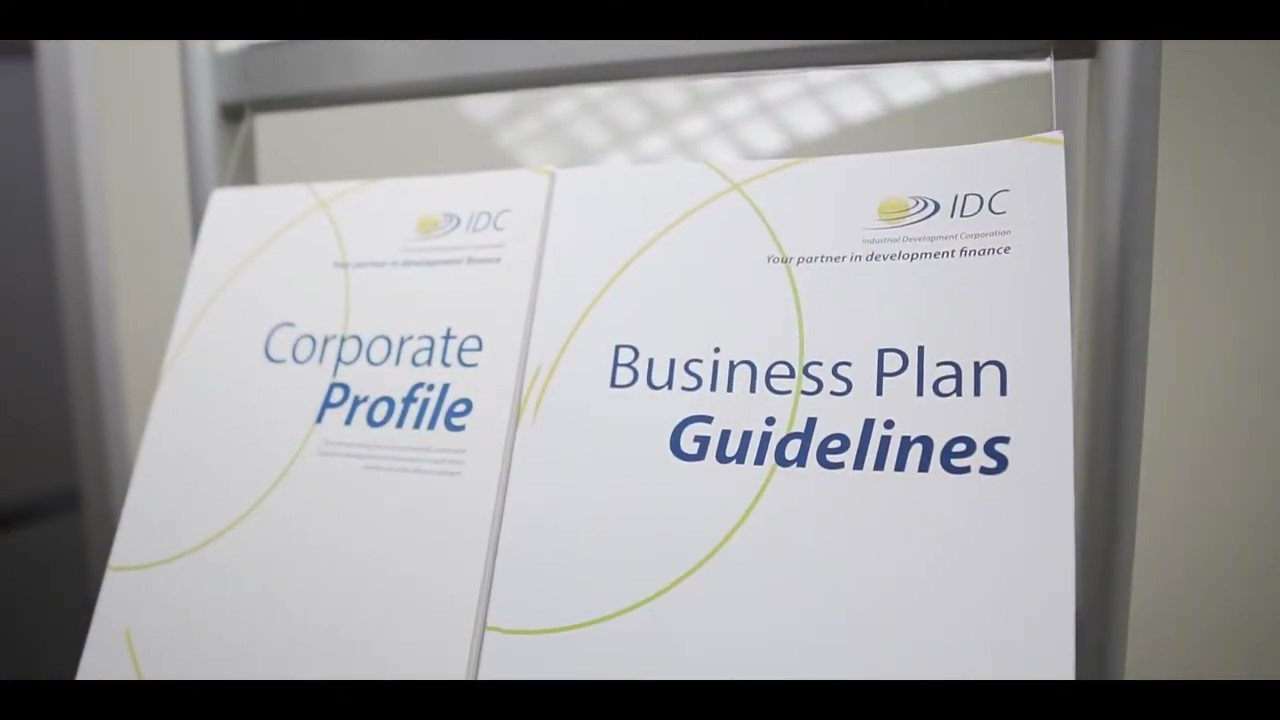 IDC business plan guidelines