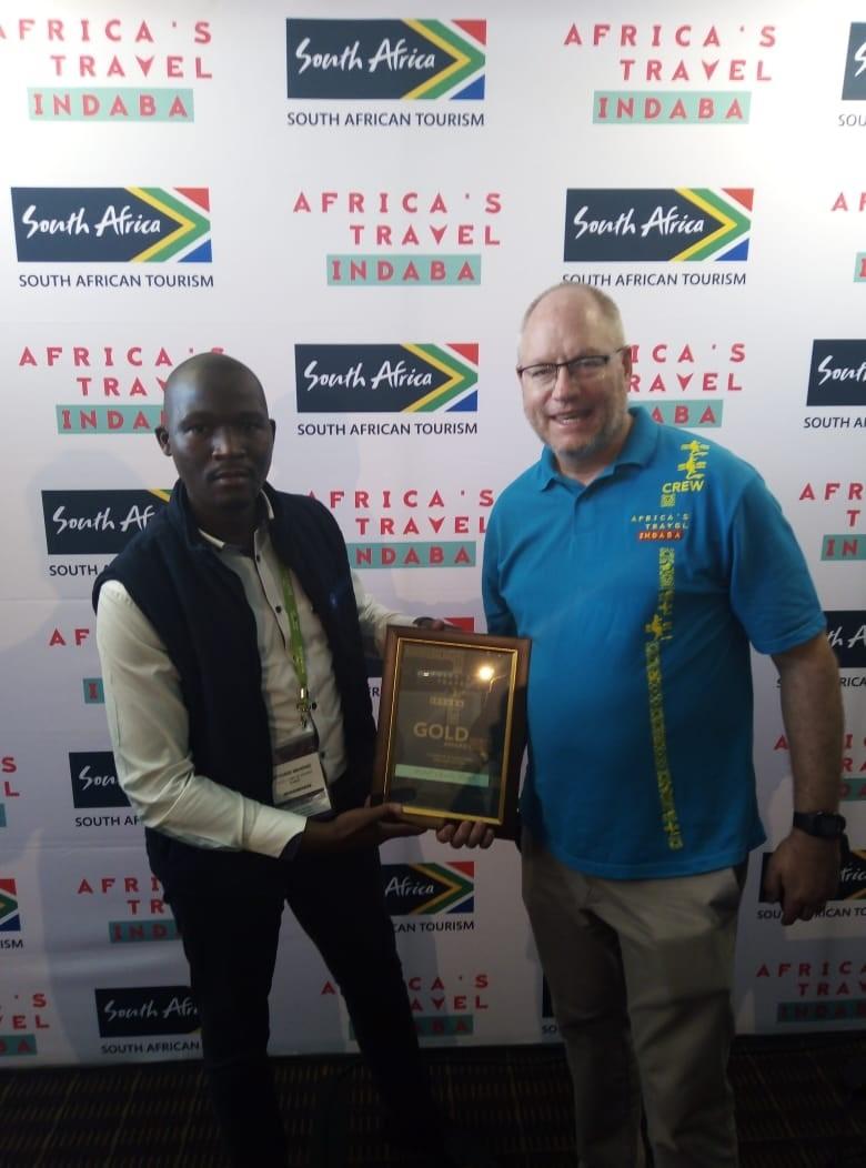 KZNSB wins Gold Award at 2019 Africa's Travel Indaba