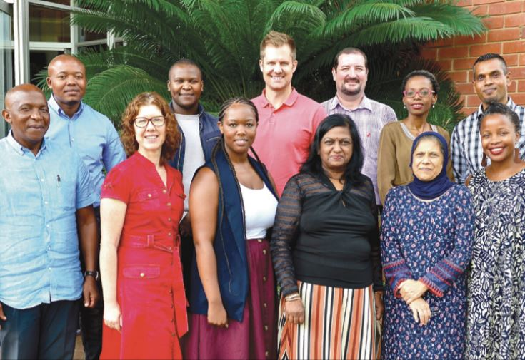 2019 cohort of Local Economic Development Champions with Professor Shahida Cassim