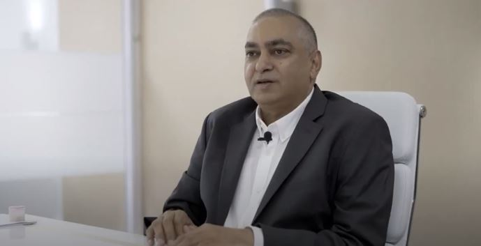 Ashok Sewnarain KZN leaders video shoot