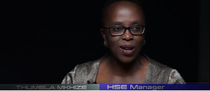 Thumela Mkhize HSE Manager