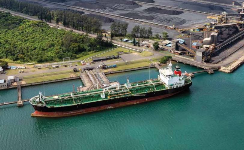 Richards Bay Port coal terminal