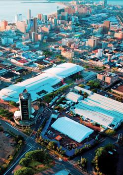Durban ICC arial view