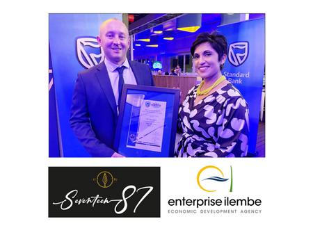 Enterprise iLembe-KZN North Coast wine cellar wins at the Standard Bank KZN Top Business Awards