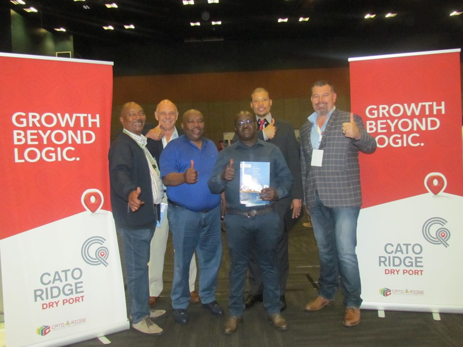 Cato Ridge Dry Port with Neville Matjie CEO of TIKZN and the CRLHC team