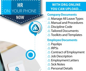 DRG Siyaya HR on your phone
