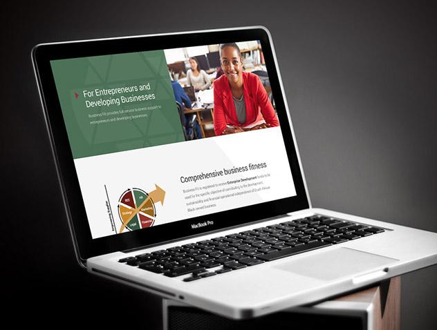 BusinessFIT website