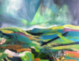 'Summit' - this painting will be one of