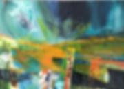 'Go your own way'  A2 deep edge canvas.