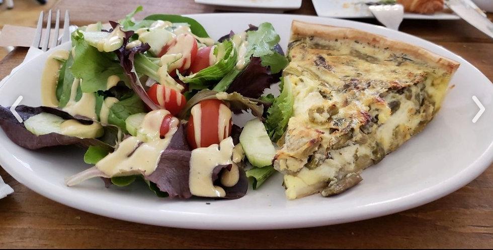 Combo Quiche Salad