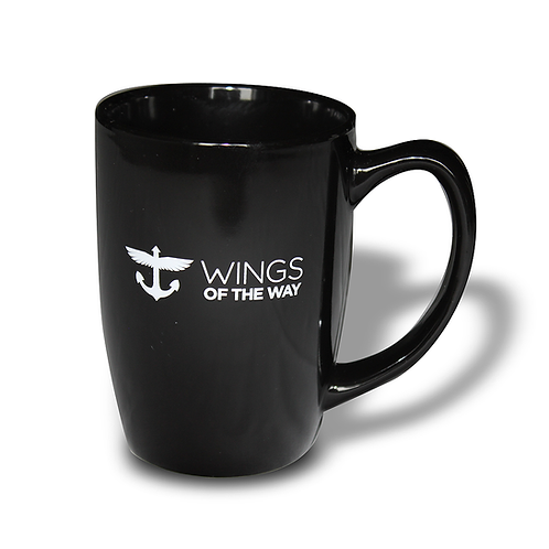 "14 oz WOW ""Wake You Up"" Coffee Mug"