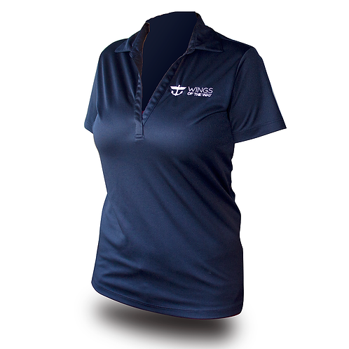Wings of the Way Polo Shirt-Women's