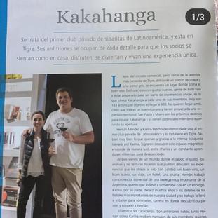 Kakahanga Club de sibaritas