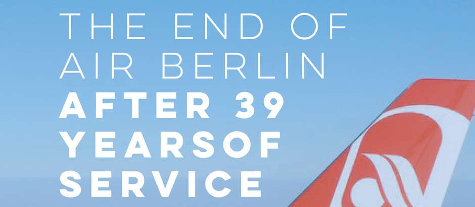 Air Berlin: AB6210, The Airlines Last Flight After 39 Years of Operations