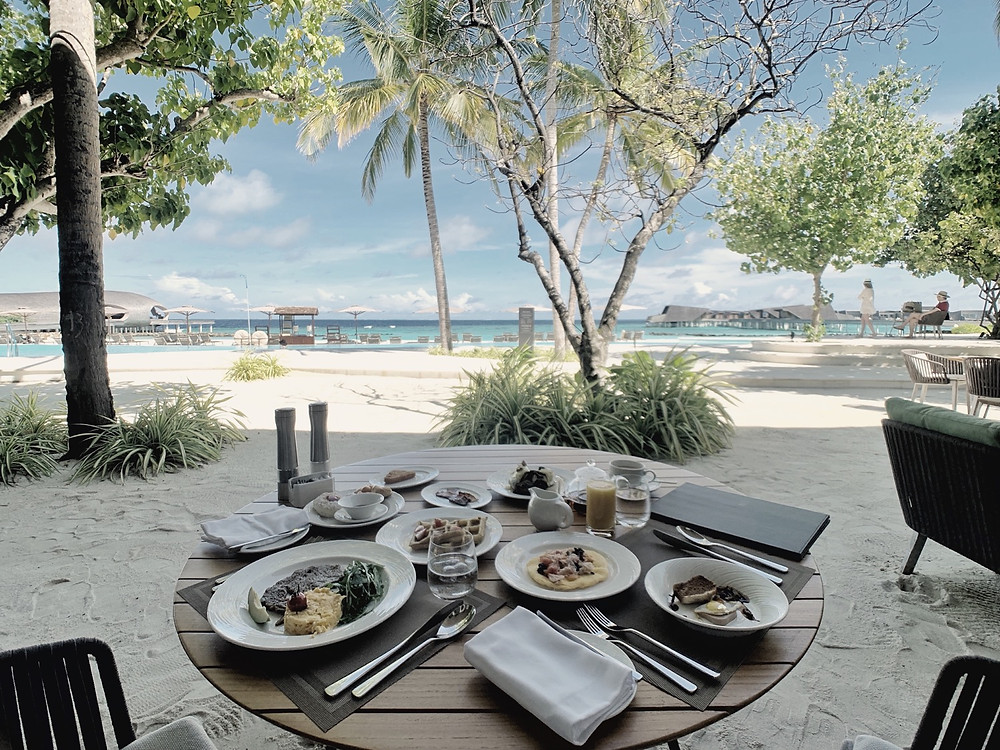 Maldives in May: St. Regis Breakfast Buffet