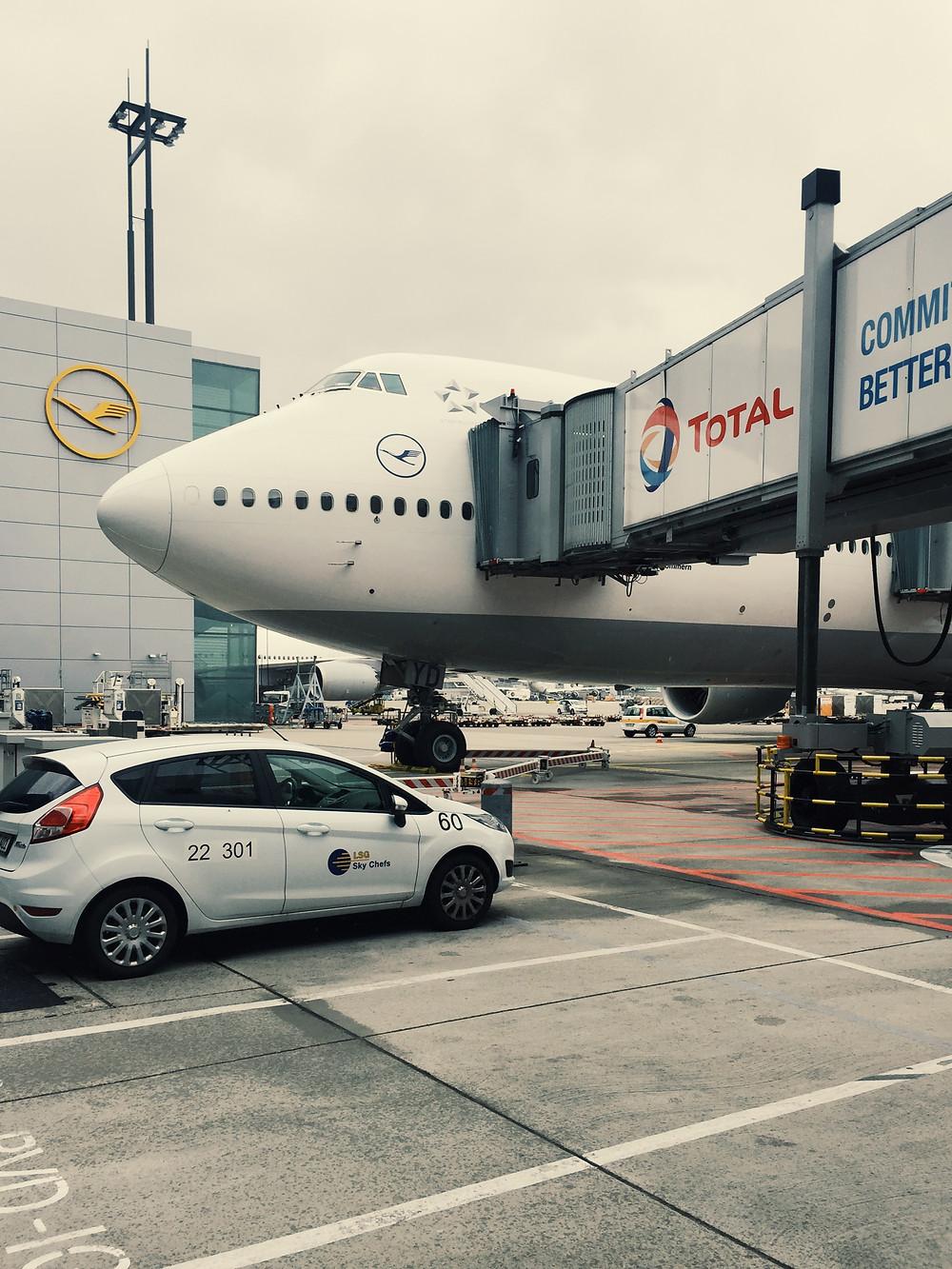 Lufthansa First Class Terminal, Boeing 747-800