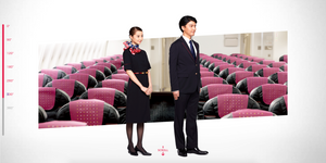 Japan Airlines New Uniform 2020 Option B