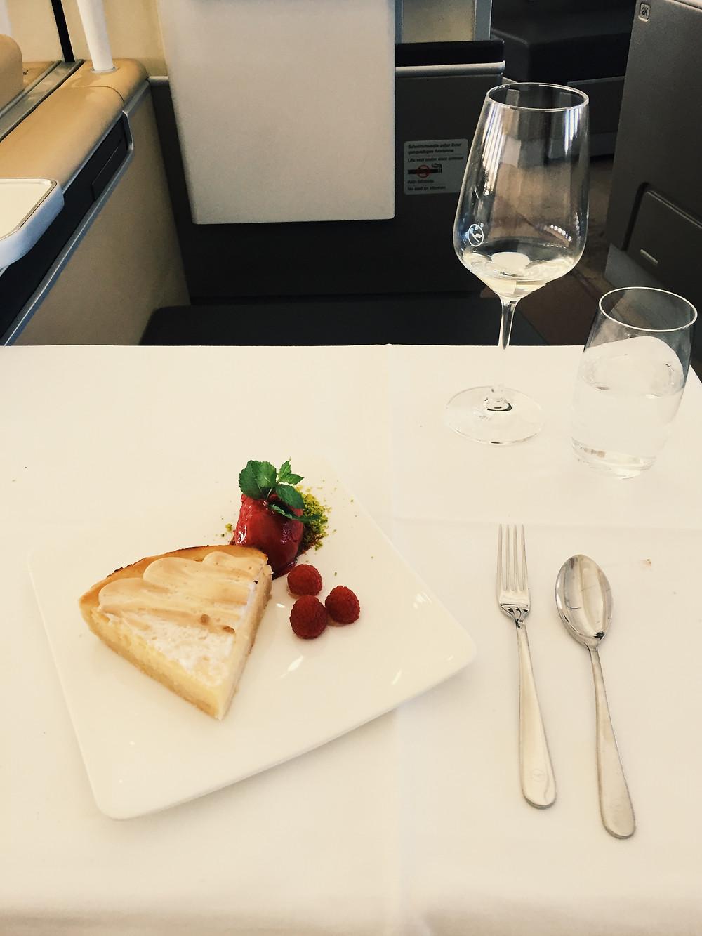 Lufthansa First Class, Dessert