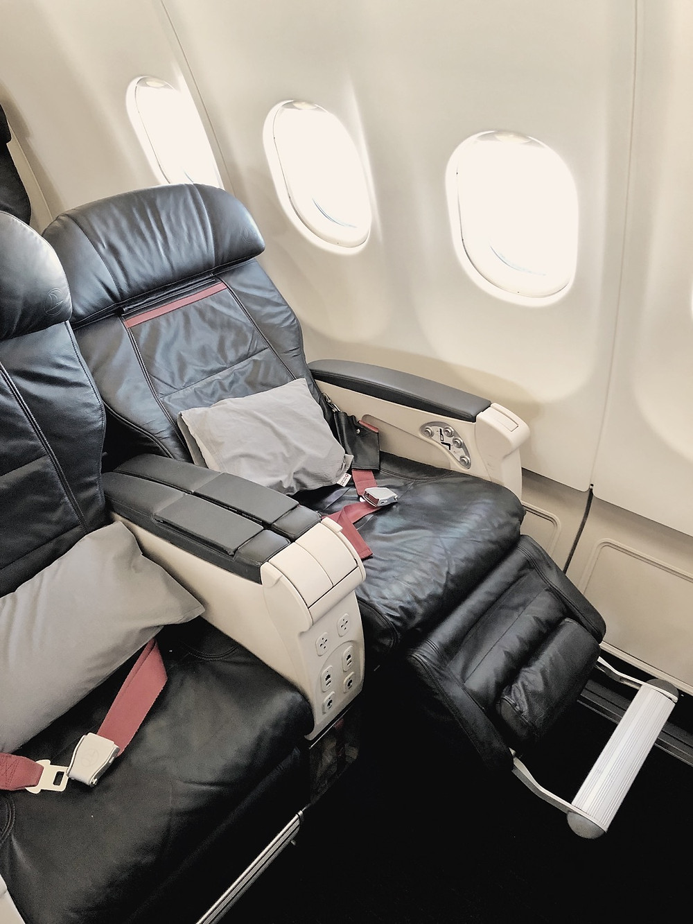 Turkish Airlines Business Class Seat 5A
