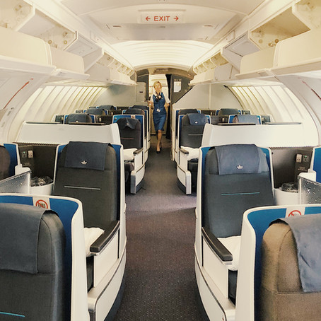 KLM Business Class Review: The Flight, Amsterdam - Los Angeles