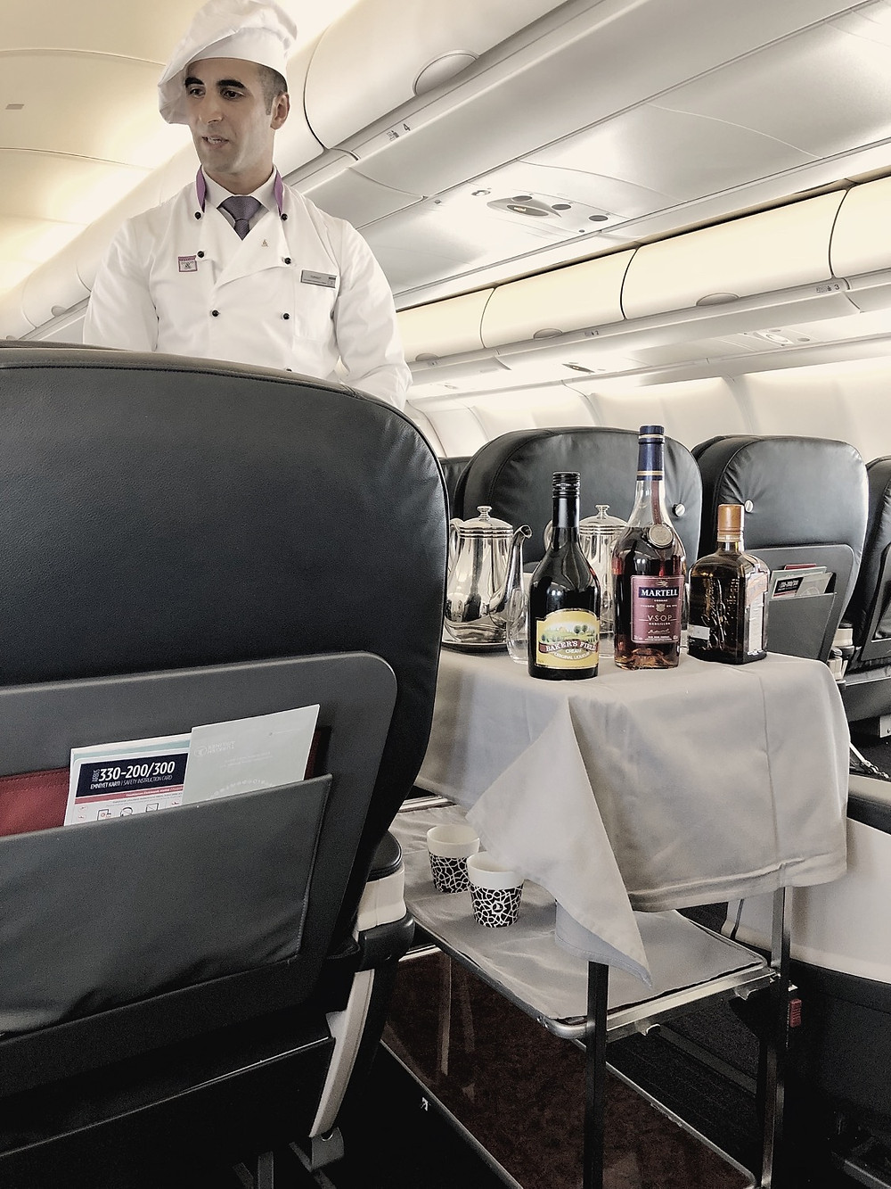 Turkish Airlines Business Class Onboard Chef