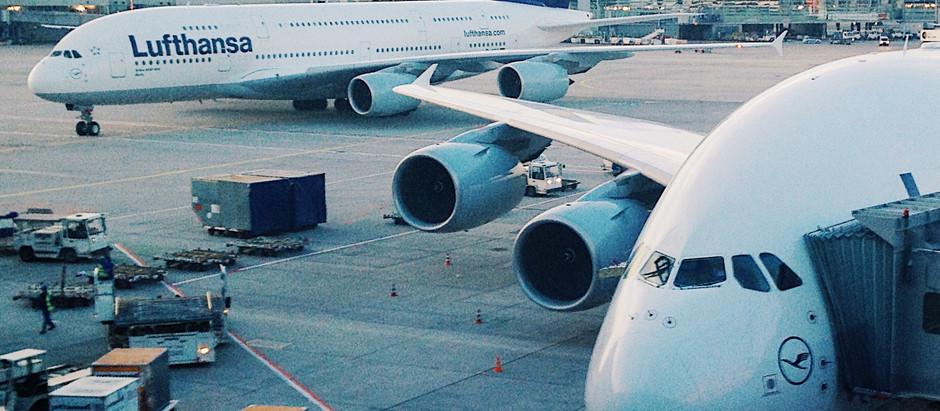 The Behemoth: Twin Lufthansa Airbus A380