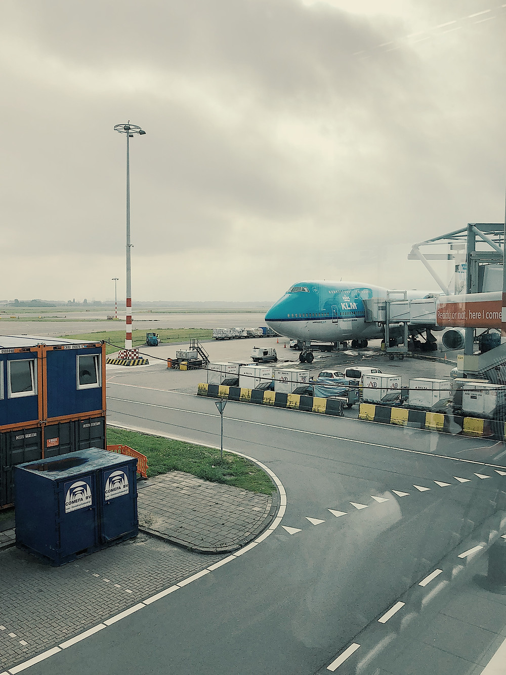 KLM Boeing 747-400ER Combi