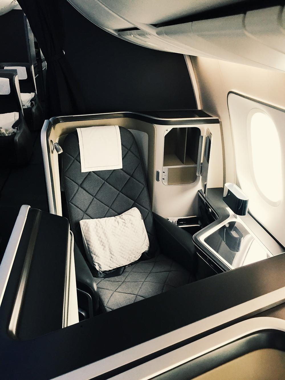 British Airways First Class, Seat 2A