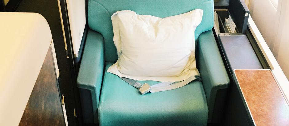 Korean Air First Class Review: The Flight, Seoul - San Francisco