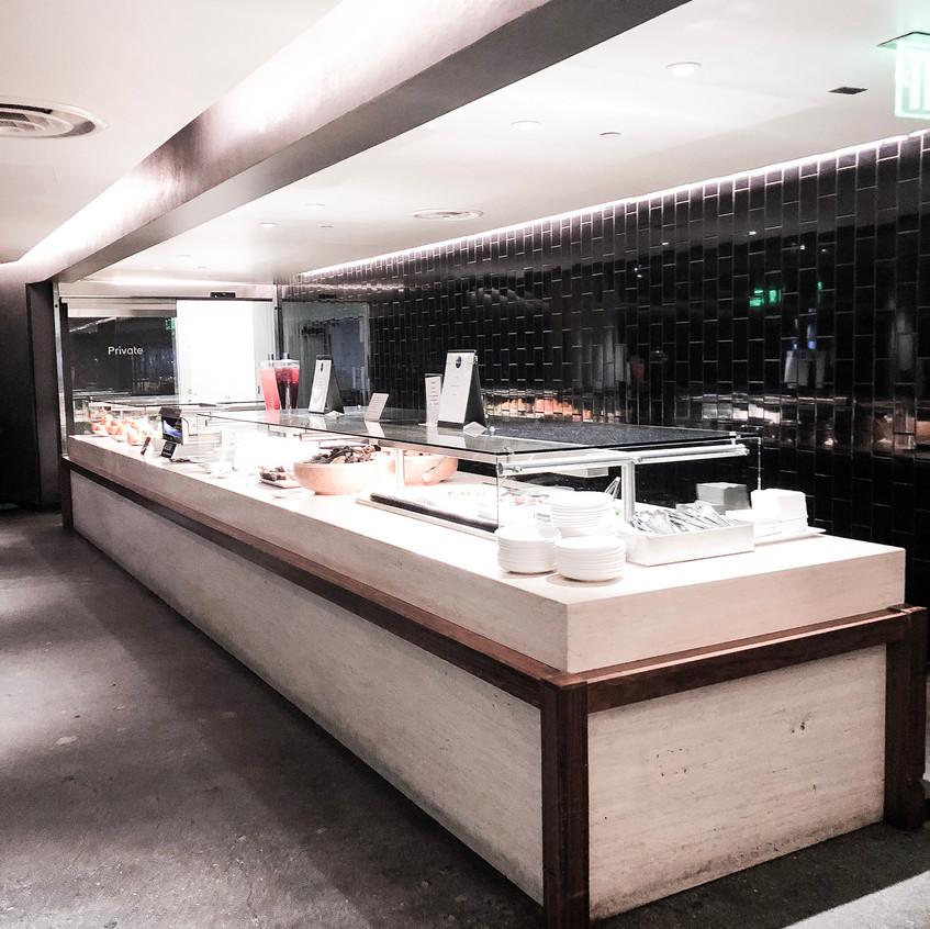 Oneworld Business Class Lounge, LAX