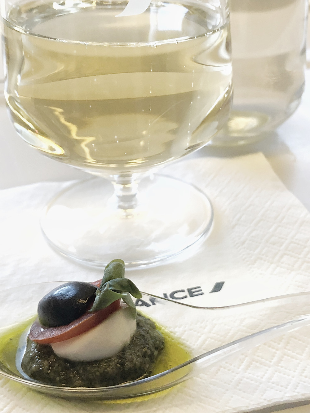 Air France Business Class, The Amuse Bouche
