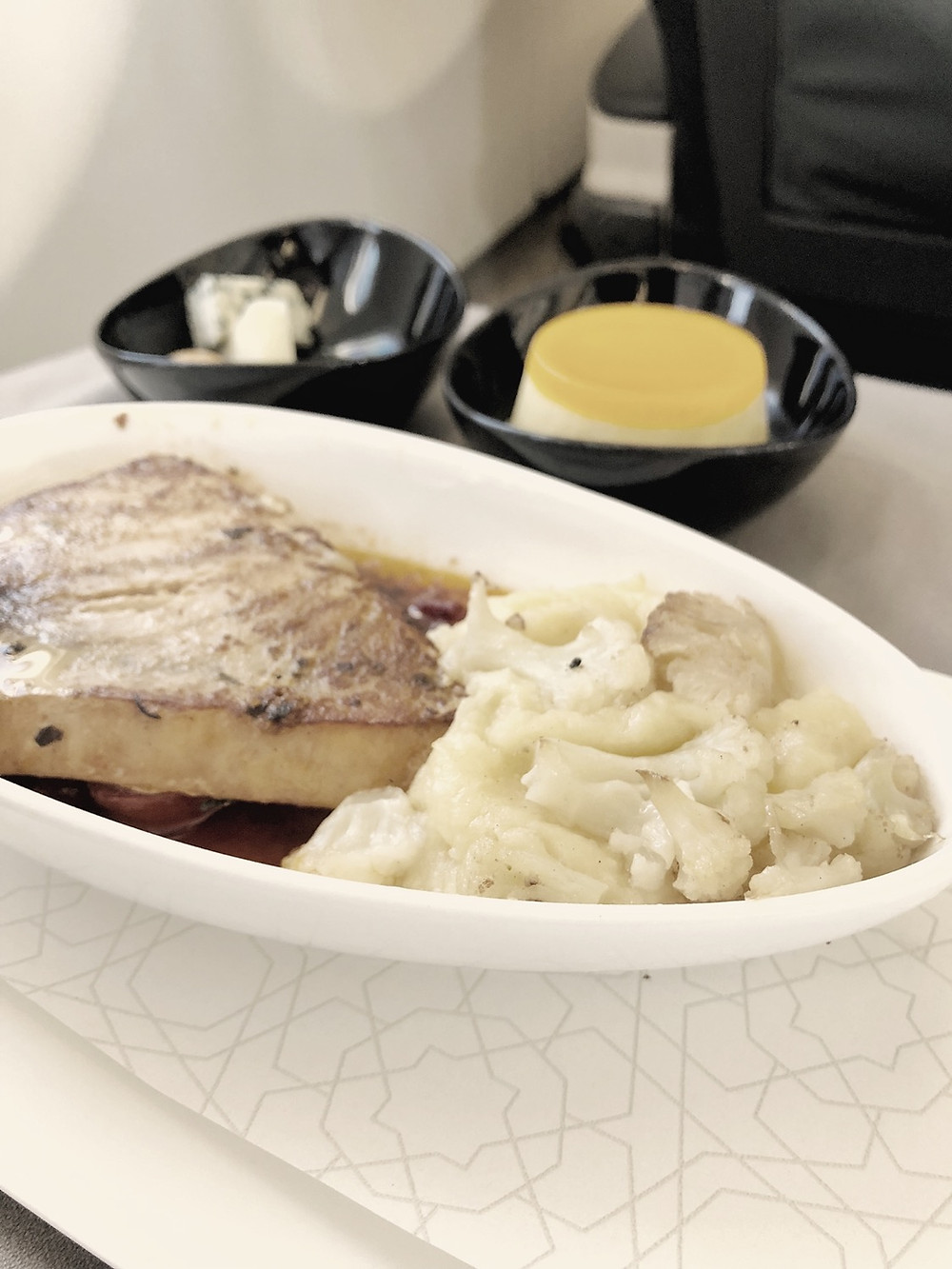 Turkish Airlines Business Class Main Entree