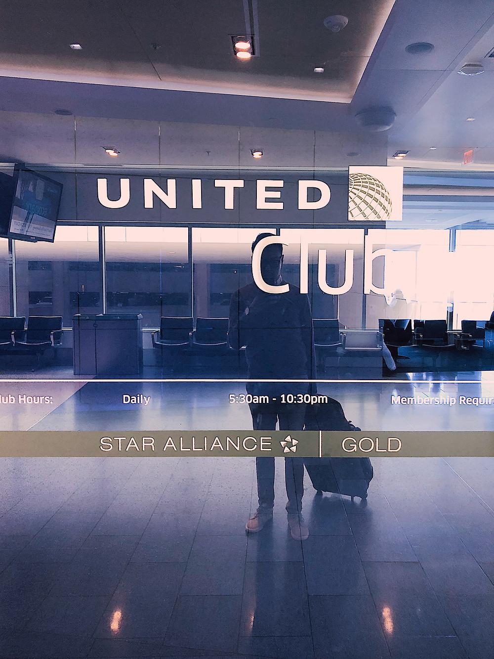 United Club, George Bush Intercontinental Airport (IAH)