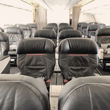 Turkish Airlines Business Class Review: The Flight, Paris - Istanbul